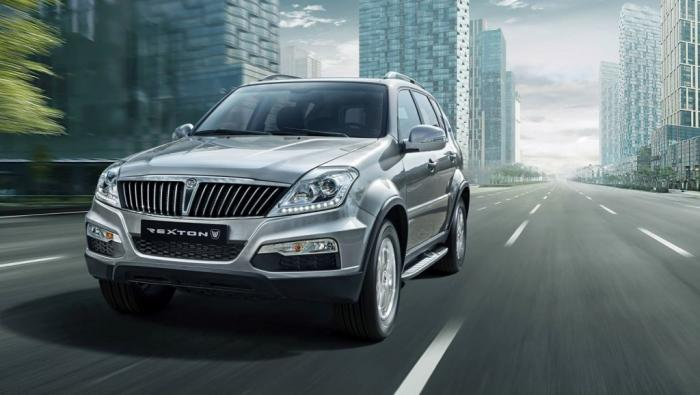 SsangYong Rexton Facelift Unveiled In Korea