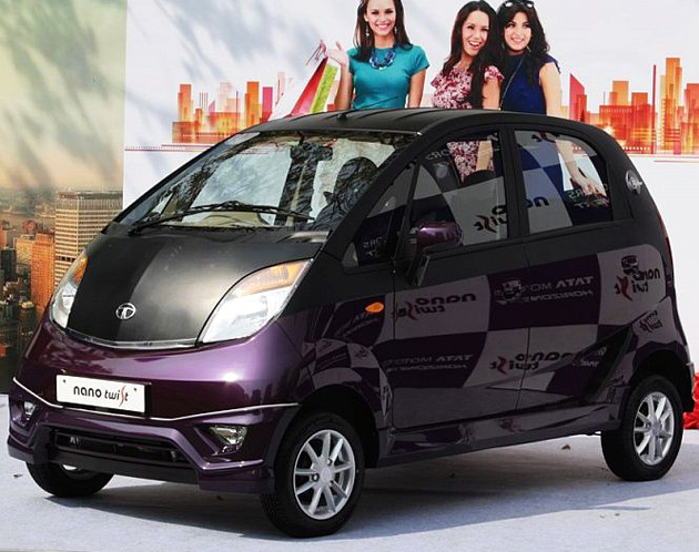 Tata Nano XE - New Base Variant With Power Steering Launched