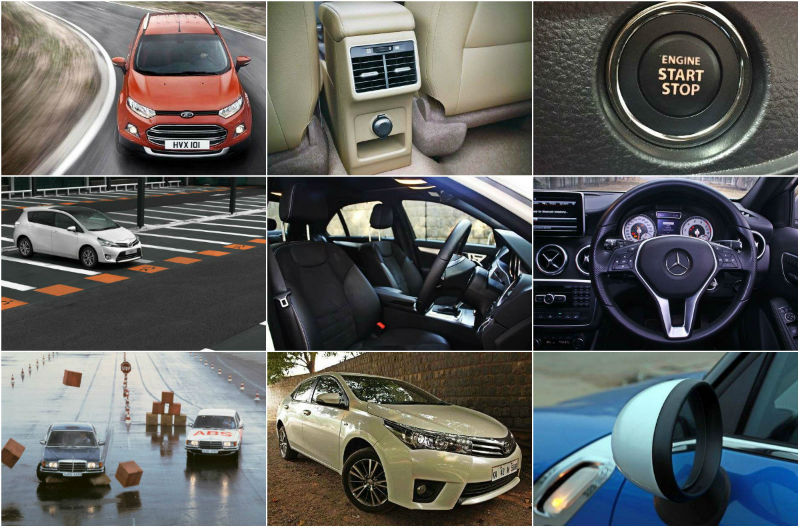 Top Ten New Car Features 2015
