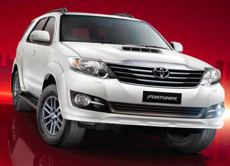 Toyota Fortuner 4x2 With 2