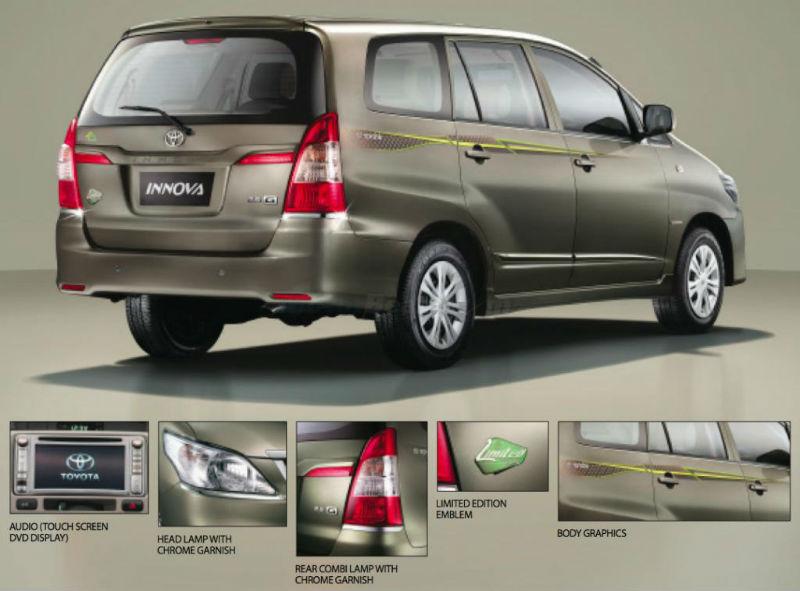 Toyota Innova 10 Year Anniversary