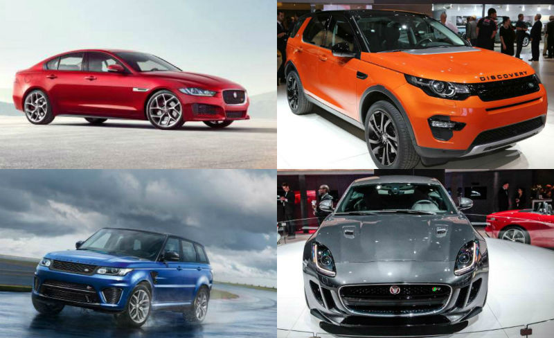 Upcoming Jaguar Land Rover Cars In India During 2015