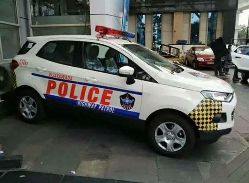 Vijaywada Police Receives Ford EcoSport
