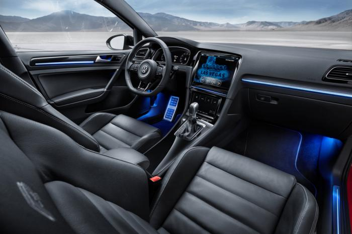 Volkswagen Golf R Touch Concept Unveiled At CES 2015
