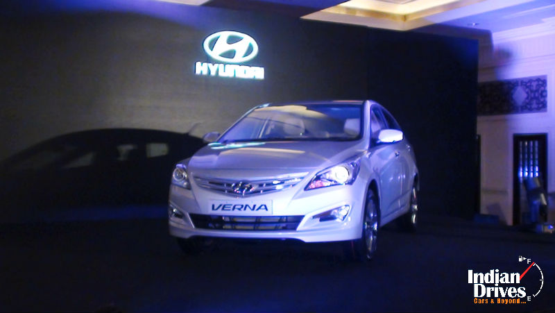 2015 Hyundai 4S Fluidic Verna Facelift Launched In India