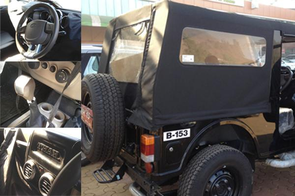 2015 Mahindra Thar Facelift Spied Inside Out