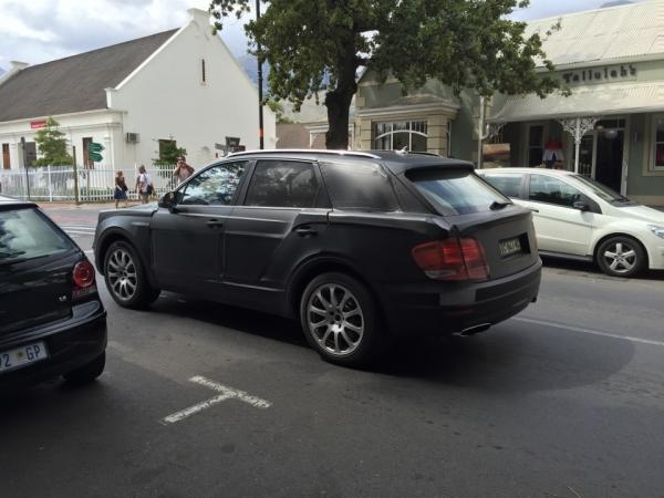 Bentley Bentayga SUV Spied In Cape Town South Africa
