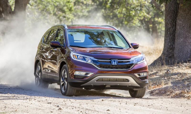 Honda CR-V Receives More Features