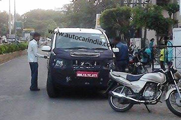Mahindra Quanto Facelift Spied In India