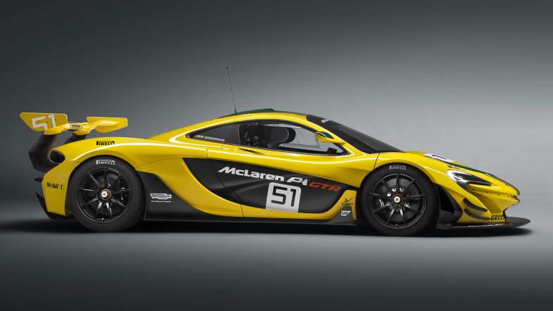 McLaren P1 GTR Unveiled For Geneva Motor Show With 1000HP