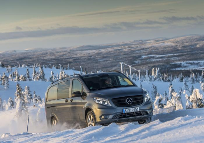 Mercedes-Benz Vito 4x4 Launched In Europe