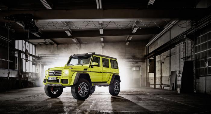 Mercedes G 500 4x4² Concept Detailed