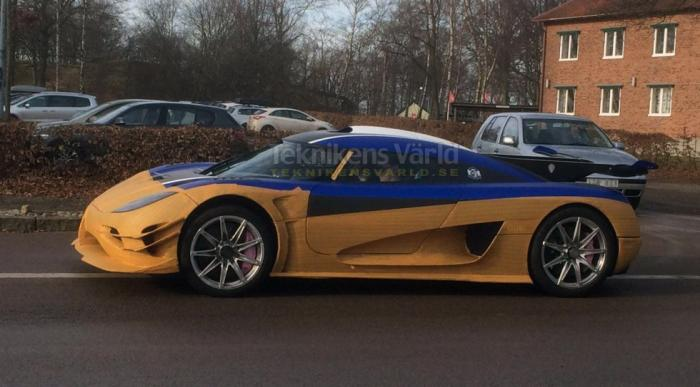 Mystery Koenigsegg Spied, Could Be The Regera