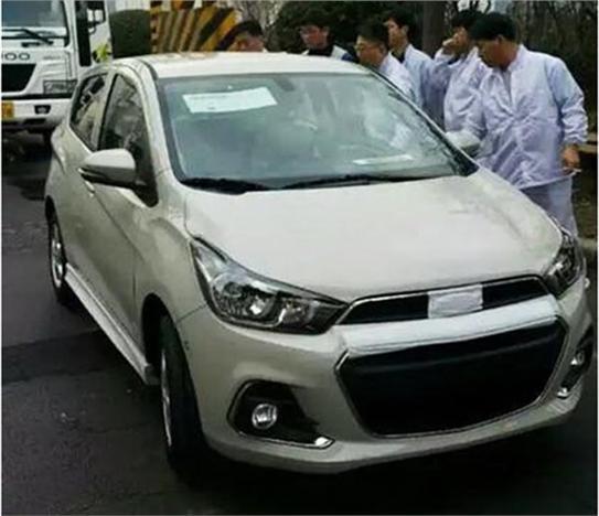 New Chevrolet Beat Spied In Korea