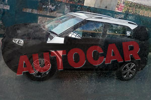 New Hyundai Small SUV Spied In India Will Rival Renault Duster