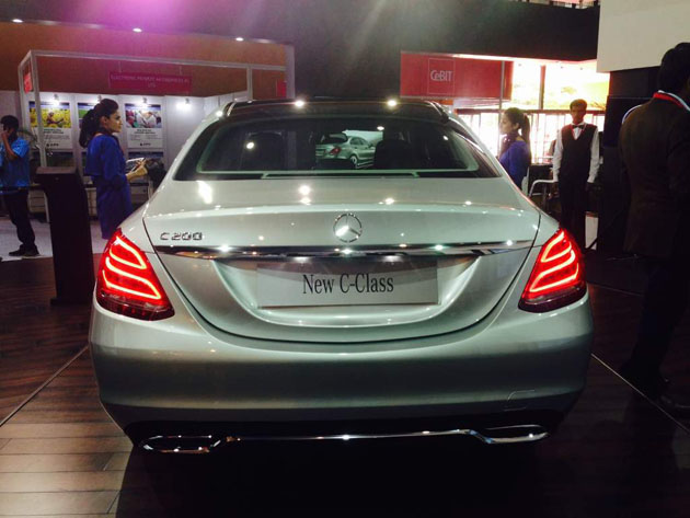 New mercedes benz c class diesel launched in india for rs for Mercedes benz prices in india
