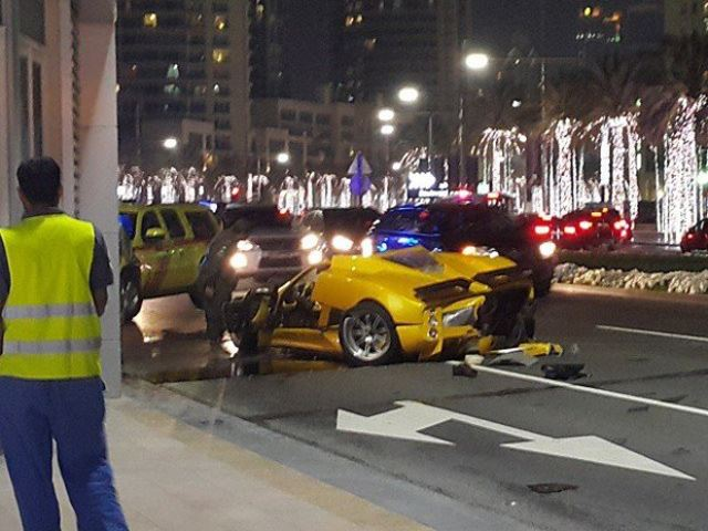 Rare Pagani Zonda F Crashed In Dubai