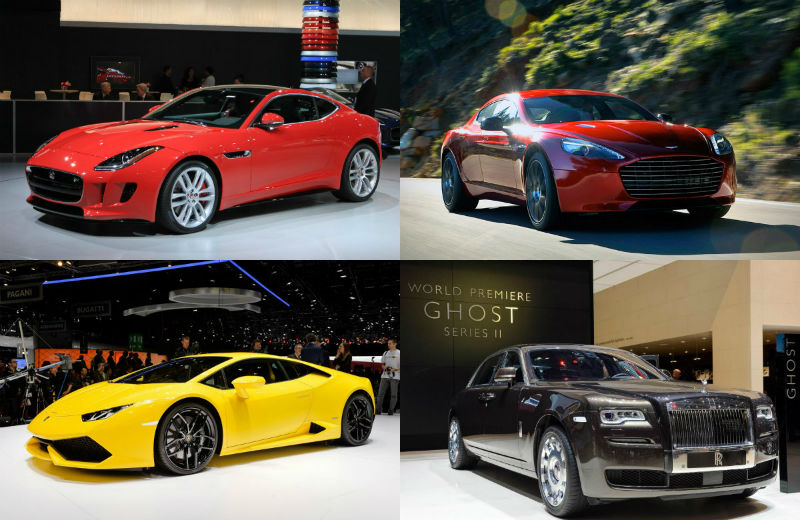 Top 5 Expensive Cars Launched In India During 2014