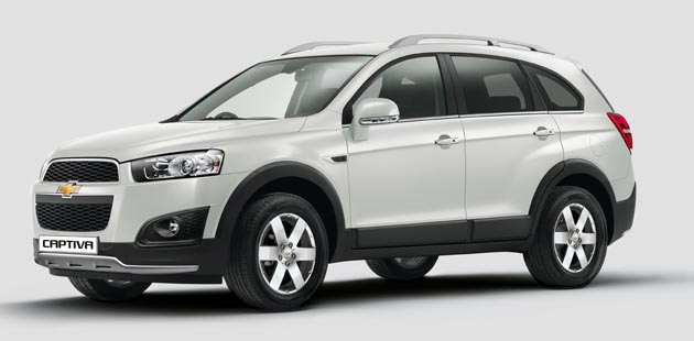 2015 Chevrolet Captiva Launched For Rs 25.13 Lakh Ex-Showroom Delhi