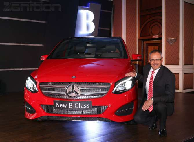 B-Class Facelift B200 CDI Diesel First Impression