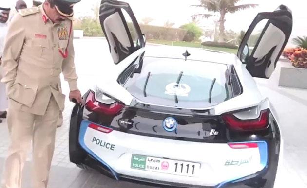 BMW i8 Added To The Fleet Of Dubai Police