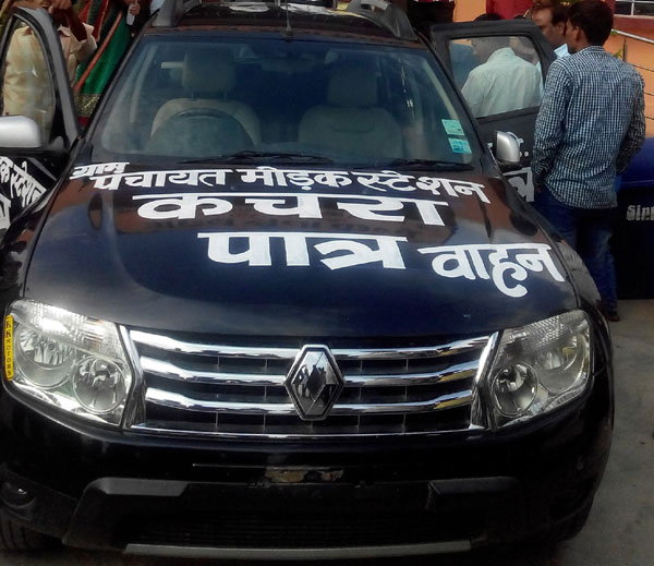 Frustrated Owner Donates Renault Duster For Collecting Garbage In Rajasthan, India