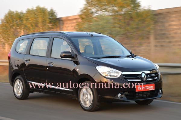 India-Spec Renault Lodgy Ready For Launch