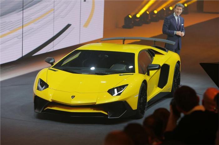 Lamborghini Aventador LP 750-4 Super Veloce Unveiled At Geneva Motor Show