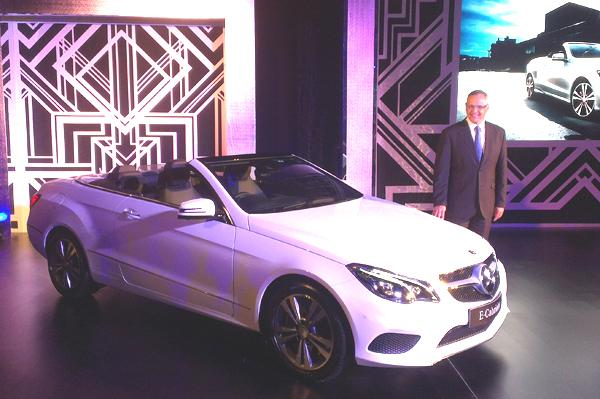 Mercedes-Benz E400 Cabriolet Launched In India