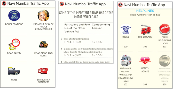 Traffic App For Motorists Launched In Navi Mumbai