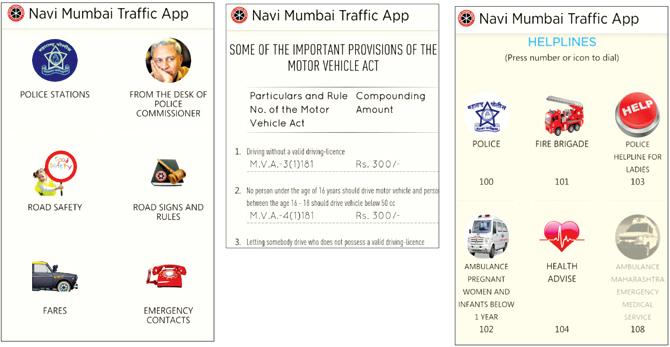 Traffic App For Motorists Launched In Navi Mumbai