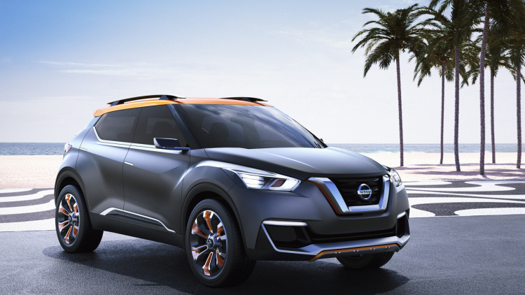 Nissan Compact SUV In Development Against The Ford EcoSport