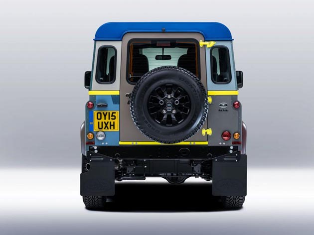 Paul Smith Land Rover Defender One-Off Edition Unveiled