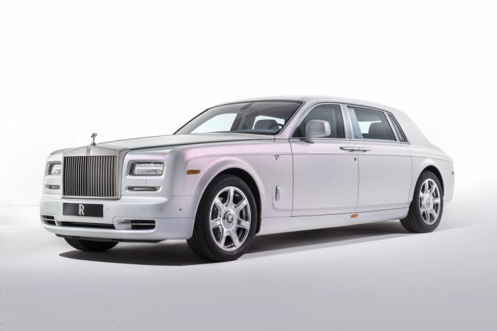 Rolls-Royce Phantom Serenity Concept Unveiled At Geneva Motor Show