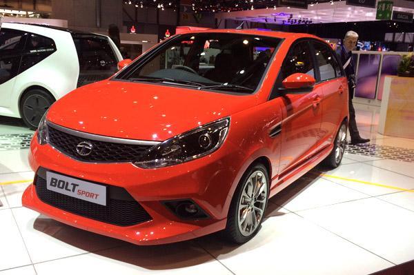 Tata Bolt Sport Unveiled At Geneva Motor Show