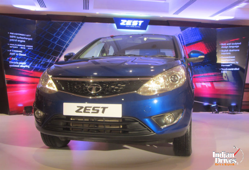 Tata Zest Diesel Automatic Top-End Variant Launched For Rs 8.07 lakh