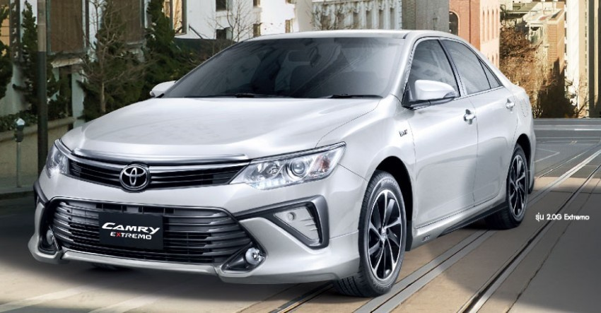 Toyota Camry 2.0G Extremo Facelift Debuts At Bangkok Auto Show 2015