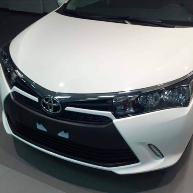 Toyota Corolla Altis Facelift Detailed In Spy-Shots?