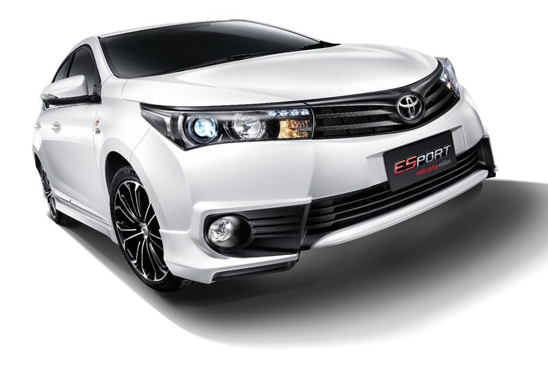 Toyota Corolla ESport Nurburgring Edition Unveiled At Bangkok Auto Show 2015
