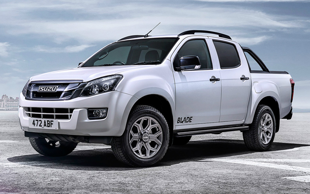 2015 Isuzu D-Max Blade Launched In UK