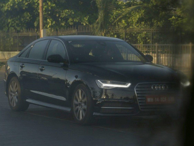 2015 New Audi A6 Spotted In Mumbai, India
