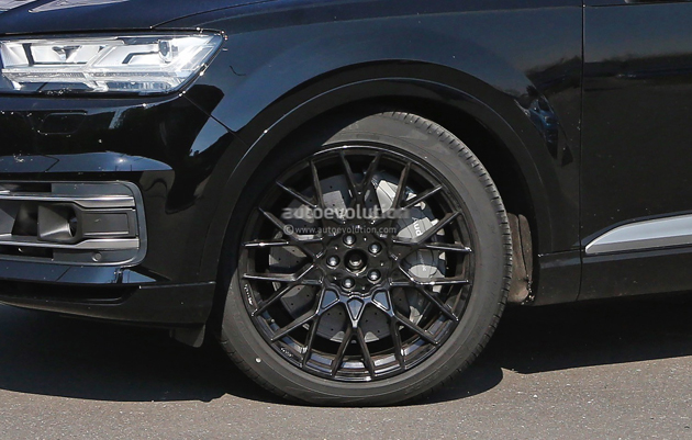 2016 Audi SQ7 Revealed In Spy Images