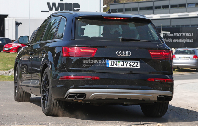 2016 Audi SQ7 Revealed In Spy Images