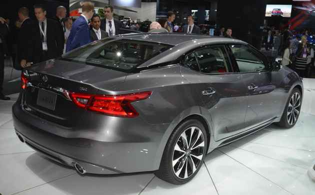 2016 Nissan Maxima Unveiled At New York Auto Show