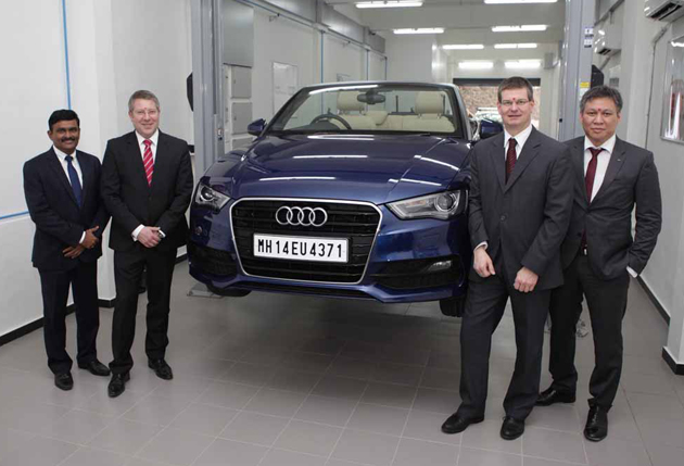Audi Opens New Technical Centre In Mumbai
