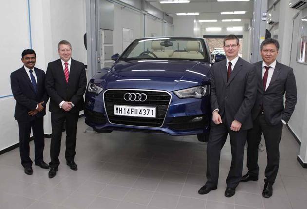 Audi Opens New Technical Centre In Mumbai