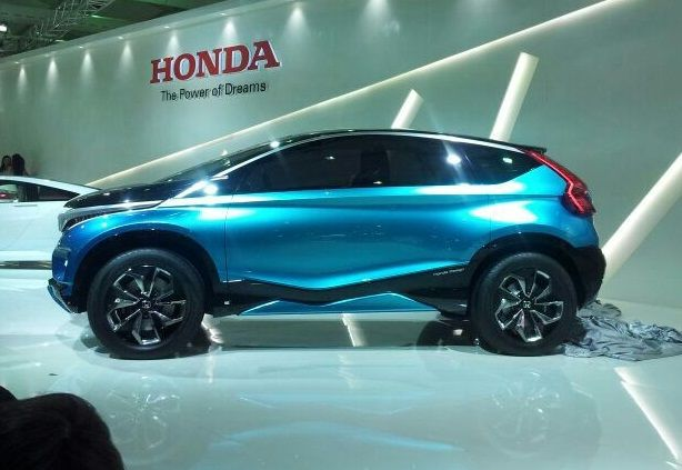 Honda Compact SUV To Get Option Of Seven Seats