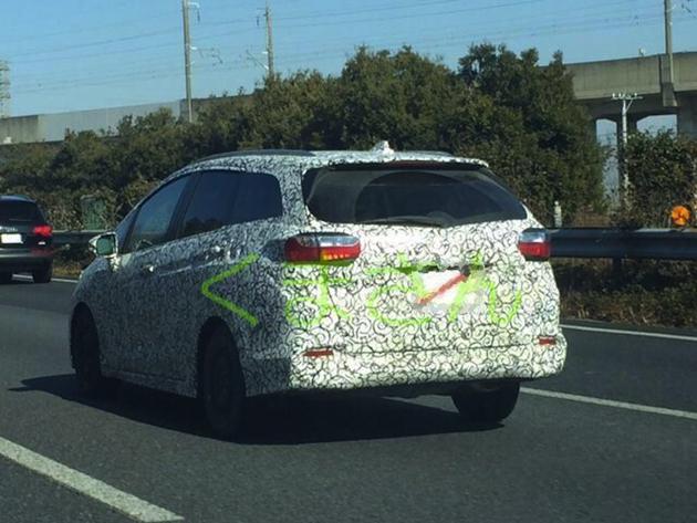 Honda Jazz Based Wagon Spotted