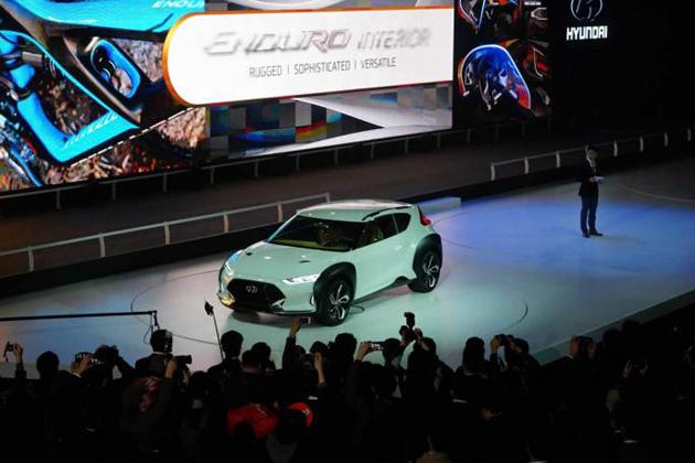 Hyundai Enduro SUV Concept Unveiled At Seoul Motor Show 2015