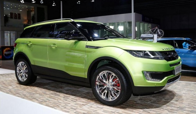 Range Rover Evoque Copy Receives Green Flag For Production In China